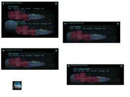 NEW rainmeter DS ship damage control HDD meter v2 by louiezzz
