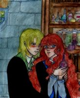 HPDH-Rose and Scorpius by Dhesia