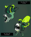 CDC Jan 2017 Days 24-25: Flymaw and Runbomb by EVanimations