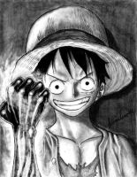 Luffy - One Piece by juannando12