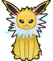 Jolteon by KrowsyKunst