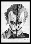 Joker's from the Dark Knight and Arkham Asylum! by TheJinMu