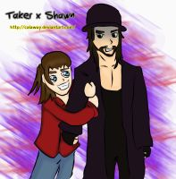 Undertaker x Shawn by calaway