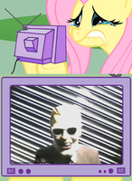 Fluttershy Meme- Headroom by MindlessGonzo