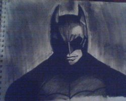 Batman Begins drawing by KaneFan57
