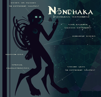 Closed Species Sheet: Nondhaka by Ravermore