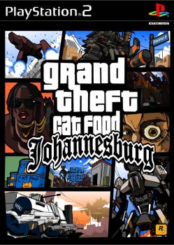 Grand Theft Cat food. D9 by NCH85