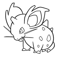nidoran female template