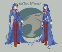 High Priest-Priestess of Jaga by MaraAum