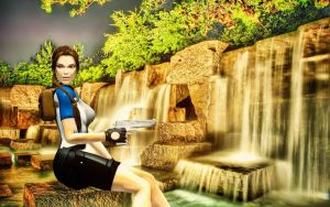 Tomb Raider II Wetsuit SOLA by LiSaCroft