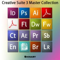 Creative Suite 3 icons by Shinart