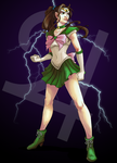 Sailor Jupiter 01 by 9ofcups