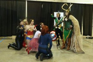 Anime Vegas 9 2012 - Comic Gathering - KNEEL by ShinrasFlurry