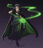Bellatrix Lestrange by CPatten