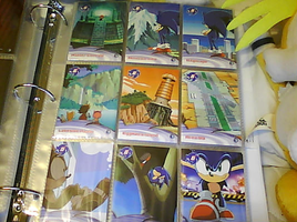 .:Sonic X Cards:. 91 - 99 by SEGAMew