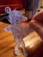 Paperchild!Sollux by AyaxaSama909
