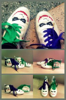 Joker Shoes. by pandaen