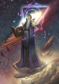 Cyrus the Archmage by b-cesar