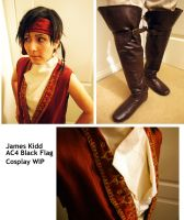 James Kidd WIP by tasukigirl