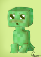 Creeper Only Wants a Hug by KassieC
