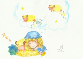 Sheepy dreams by 6wendybird91