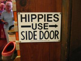 Hippies Use Side Door by ThisTangleOfThorns
