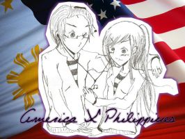 America X Philippines by Suzuho-Chan