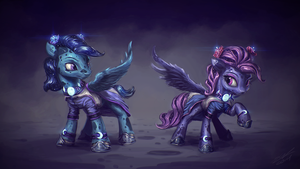 Lunar Emissaries by AssasinMonkey