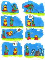 Super Chick! Episode 3: Fallen from the sky! by Scarnor