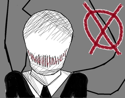 Slender Man by CreaturefromtheVoid