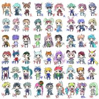 OPEN Chibi Adopts- 50pts/$$ or FREE (rules inside) by KuroidaAdopts