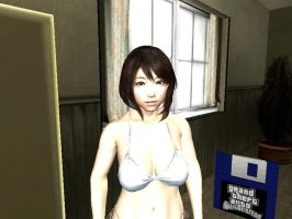 AI REAL KANOJO SKIN GTA SA BY SIDNEY by sidneymadmax