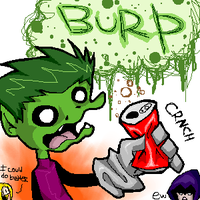 beastboy can burp by tomoko-nyo