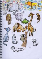 Lil Animal Designs by Sandora