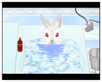 Bathing Bunnies by Dragoshi1