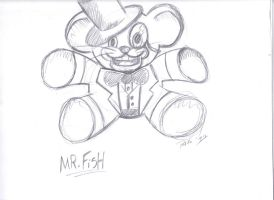 Mr.Fish Character Design by XxPohGoxX