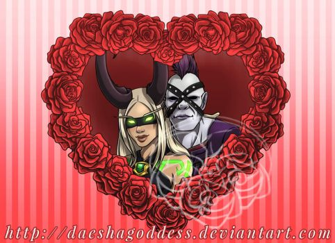 DH and Undead in love. by Daeshagoddess