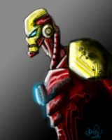 Ironman - Quick Sketch by Bane-the-Jester