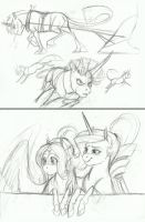 AU Doodle- Undivided Attention by Earthsong9405