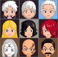 Devil May Cry Anime Face Maker by Lordviral