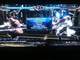 Soul Calibur V, Yoshimitsu Vs Patroklos by LightTheDragon19