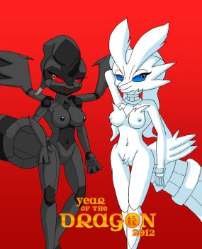 Dragon Ladies by Sonic808