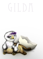 Tiny Gilda by ceredwyn