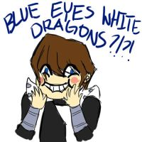 BLUE EYES WHITE DRAGONS??? by OsaP
