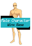 Male Character Base by TheDamnedFairy