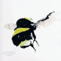 Bumble Bee Sketch by likeOMFGitsJONNY