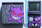 Custom Gengar Evolution GBA SP by TattyBudderfly