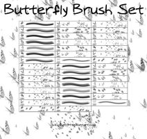 Butterfly Brush Set by InsaneKushi