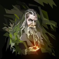 Gandalf by mobokeh