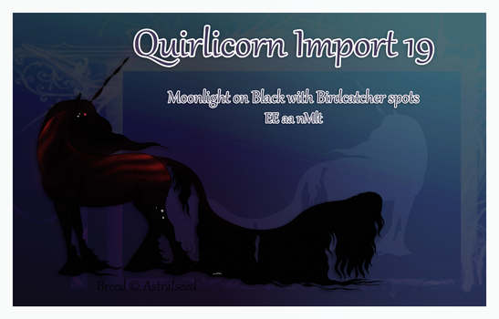 Quirlicorn Custom Import 19 by Astralseed
